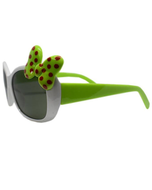 White Ribbon Sunglasses for Kids - Hiffey