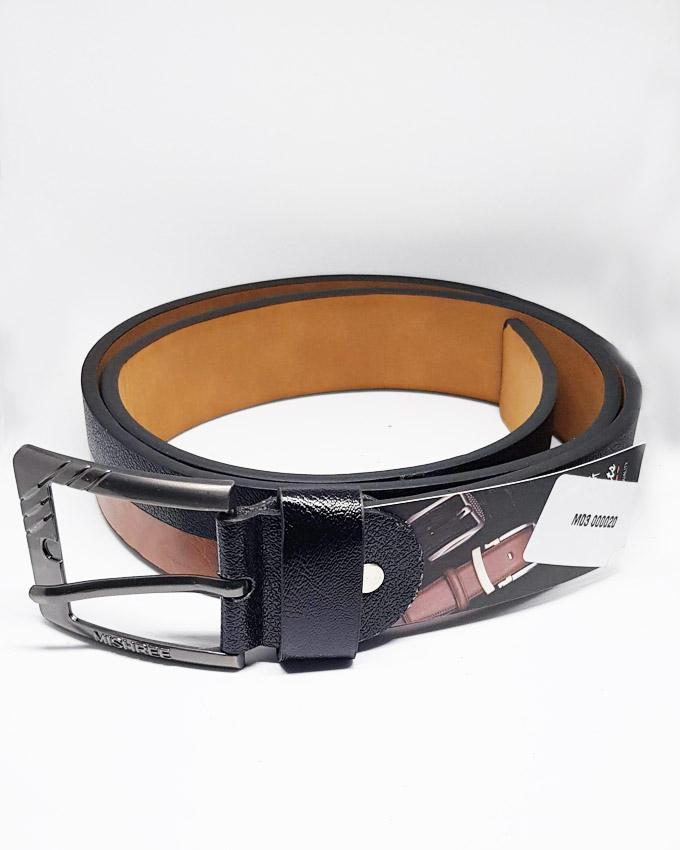 Black & Brown Shaded Leather Belts For Men