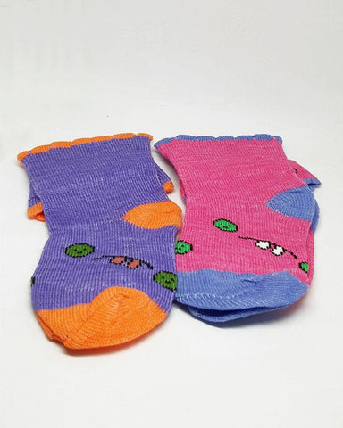 Baby Toddlers Colorful Socks - Pack of 2