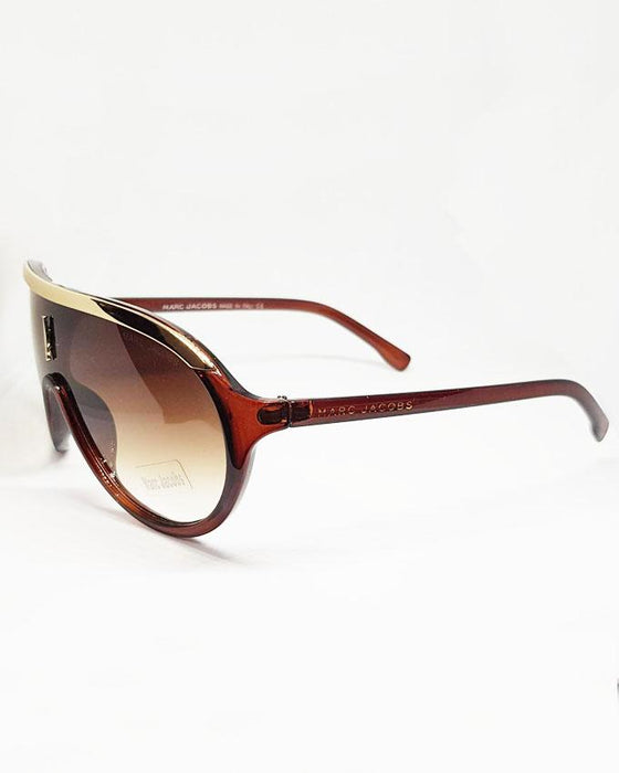 Marc Jacobs Brown Shade Sunglasses - Hiffey