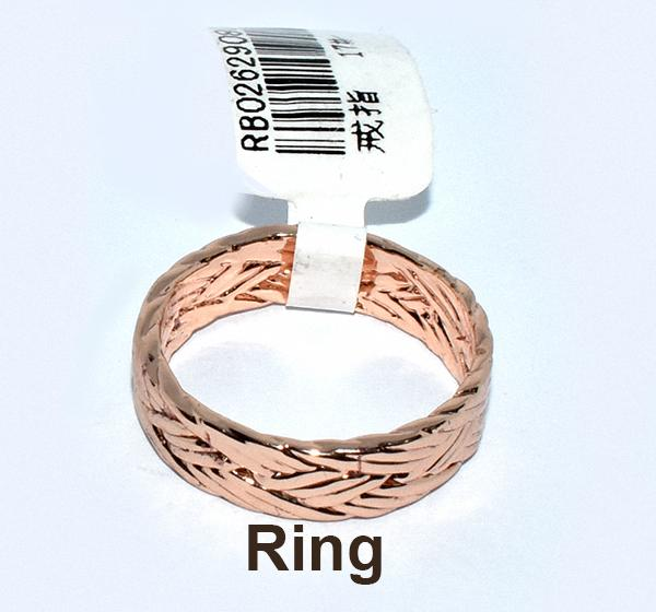 Sparkling Elastic Ring For Girls - Golden - Hiffey