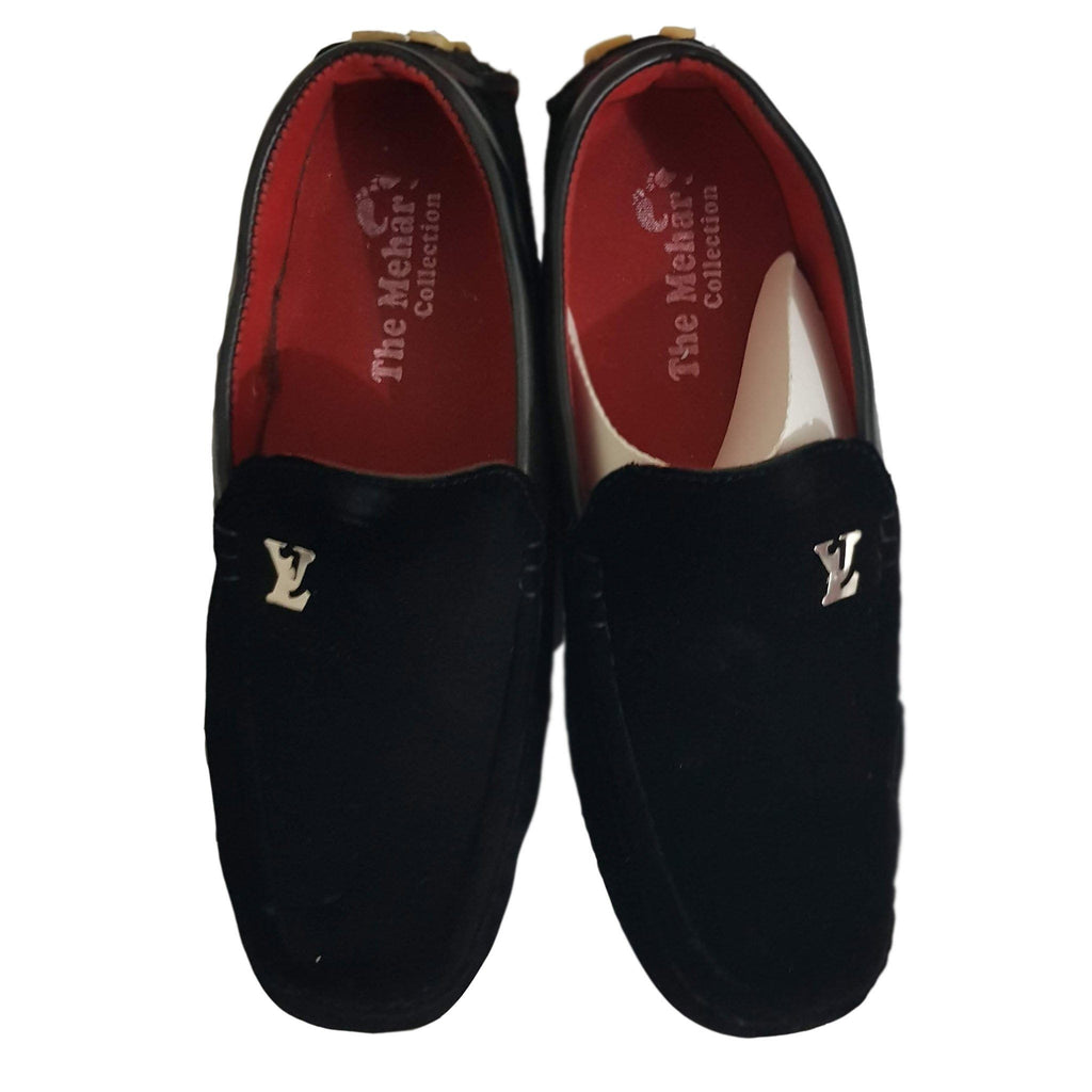 Black Casual Loafer For Men - Hiffey