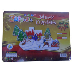 3D Puzzle Toy - Merry Christmas