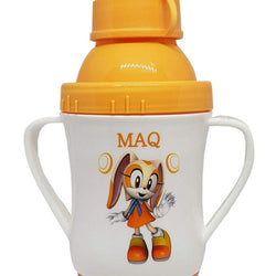 MAQ 3 in 1 Baby Drinking Cups 8 oz - Orange