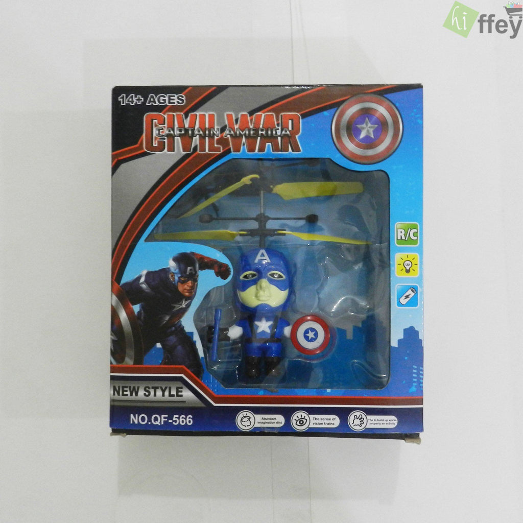 Hand Induction Civil War Captain America