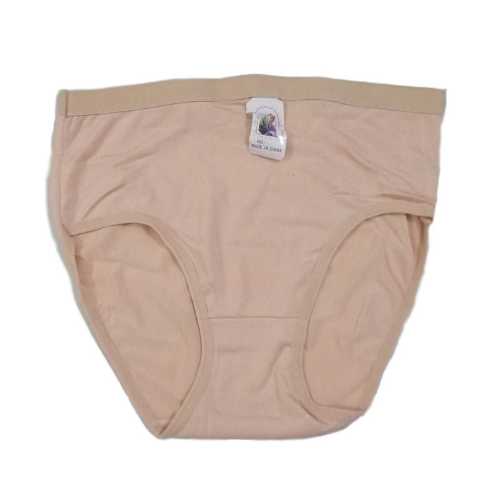 Comfortable Wear Skin Color Plain Cotton Panties - Hiffey