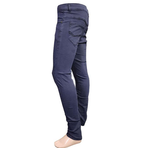 Branded Purple Blue Shade Jeans Slim Fit for Men - Hiffey
