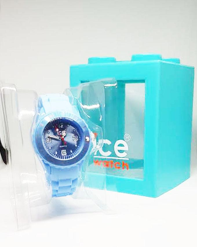 Blue Silicon Mini Watch by ICE for Kids
