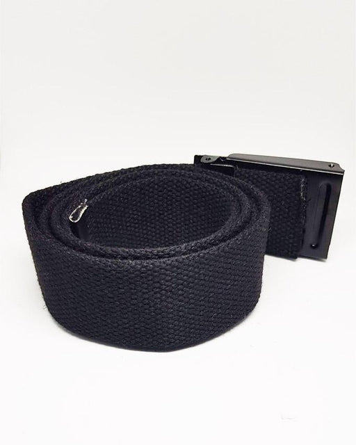 Cotton Belts For Men 3 Line Style Buckle - Hiffey