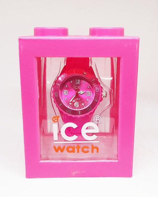 Pink Silicon Mini Watch by ICE for Kids - Hiffey
