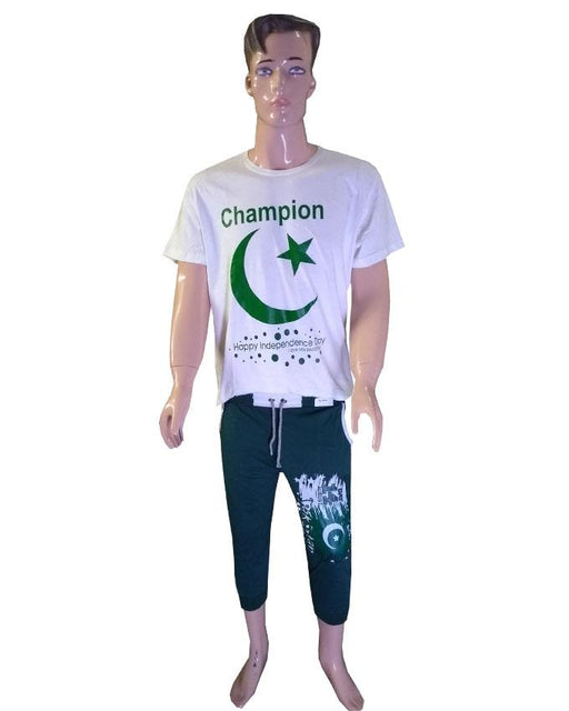 14th August Pakistan Independence Day Boys T-Shirt and Trouser - Hiffey
