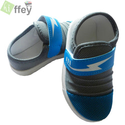 Blue and Grey Casual Shoes for Boys - Hiffey