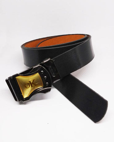 Buckle Belt For Kids - Black