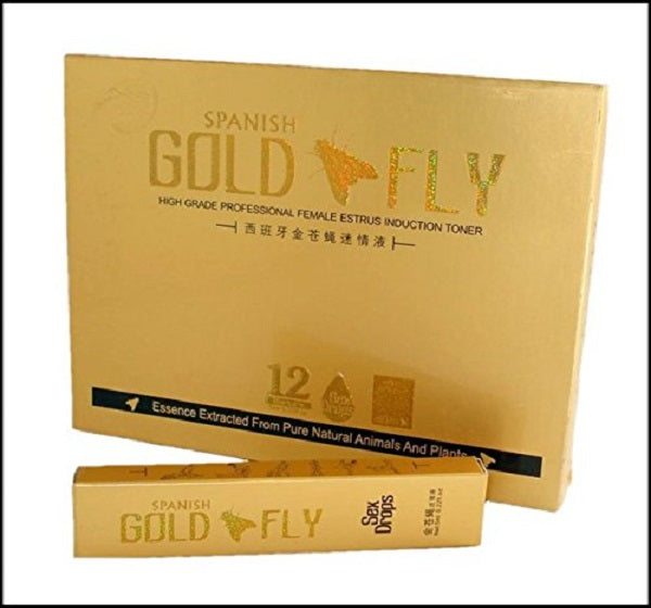 Gold Fly Female Sex Drops - Hiffey