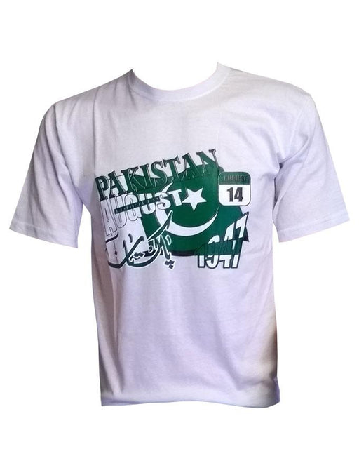 Pakistan 14 August Style Fashion T-Shirt