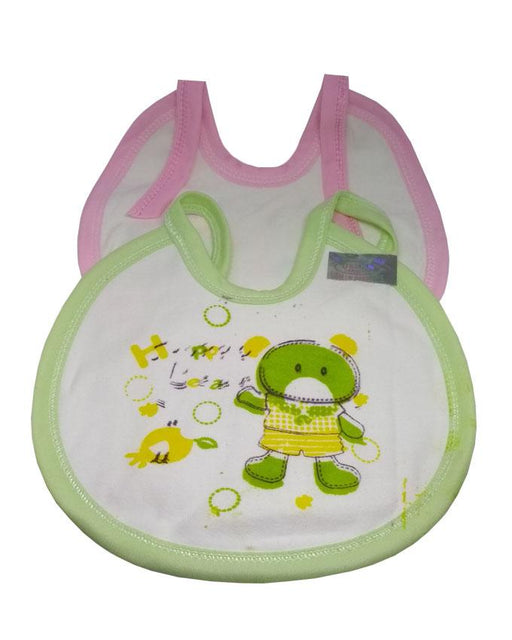 Baby Pack Of 2- Printed Bibs - Hiffey