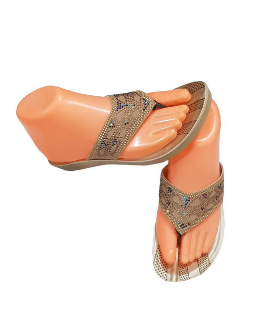 Ladies Fancy Work Chappal by Comfosoft - Hiffey