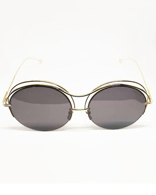 Miu Miu Round Black Shade Sunglasses - Hiffey