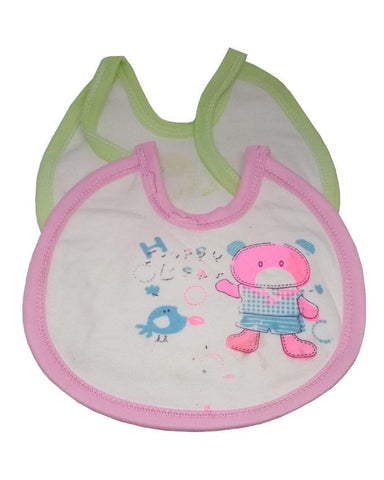 Baby Pack Of 2- Printed Bibs