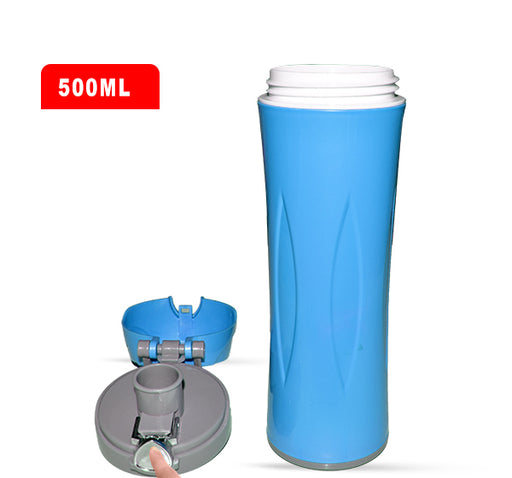 Easy Cool Water Bottle For Kids - Blue - Hiffey