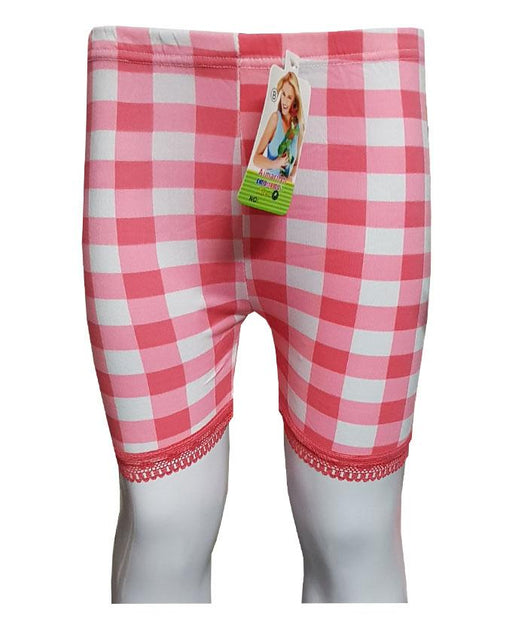 Pink Checks With Lase Boxers for Kids - Hiffey