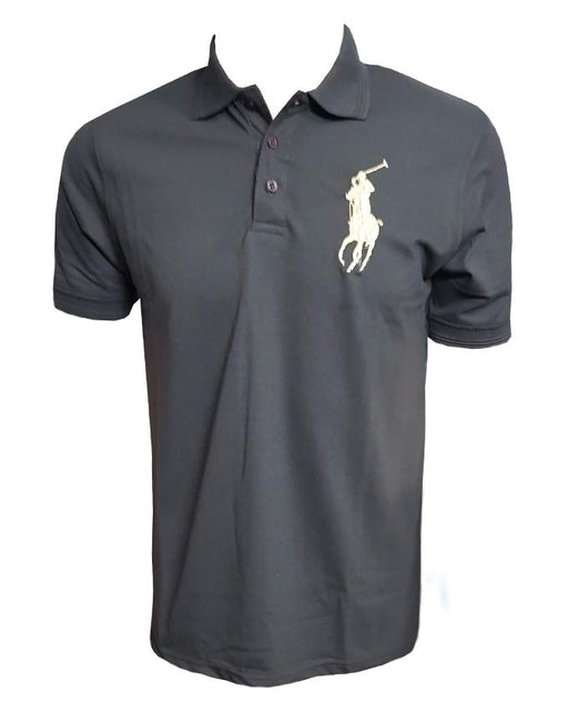Ralph Lauren Polo Shirt-Dark Grey
