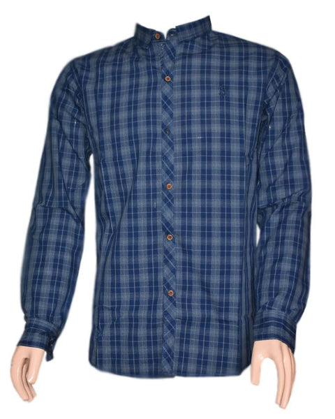 U.S Polo Assn. Full Sleeves Checkered Shirt For Men