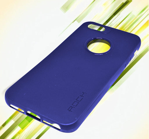 Apple Iphone 5 Simple Back Cover - Blue - Hiffey