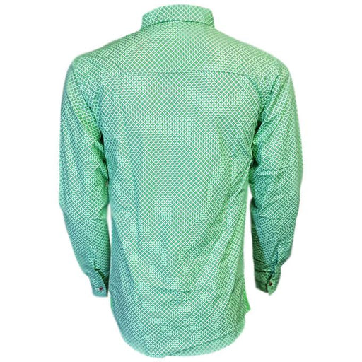 Green Long Sleeves Casual Shirt - Hiffey