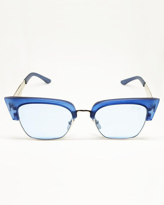 Dior Fashion Blue Sunglasses - Hiffey