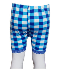 Blue Checks With Lase Boxers for Kids