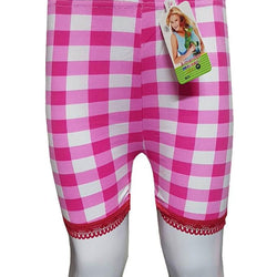 Light Pink Checks With Lase Boxers for Kids