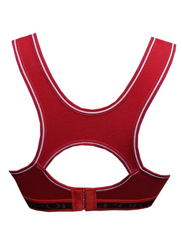 New Look Sports Bra For Girls - Red