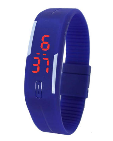 LED Sports Watch for Boys & Girls - Blue