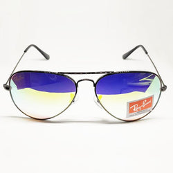 RayBan Black Frame Multi Color Shade Sunglasses