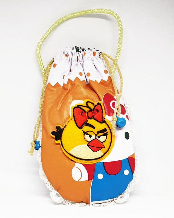 Mini Angry Bird Feeder Cover for Babies - Orange - Hiffey