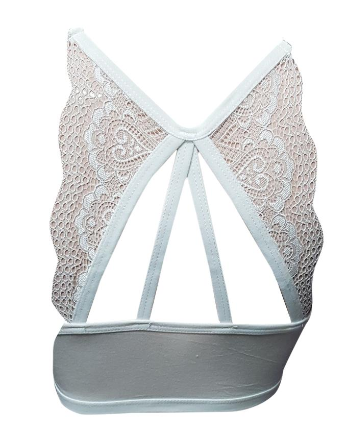 Aire Bra Butterfly  Padded - White