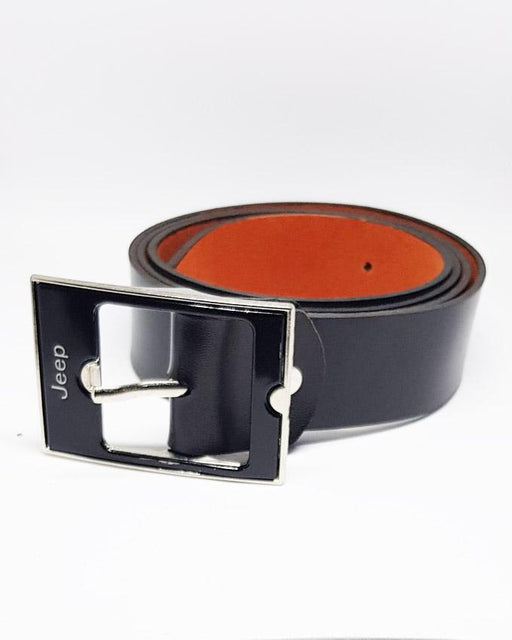 Jeep Leather Belts For Kids- Black - Hiffey