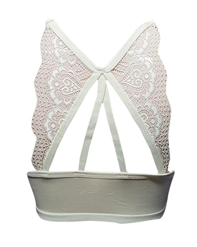 Aire Bra Butterfly  Padded - Light Yellow