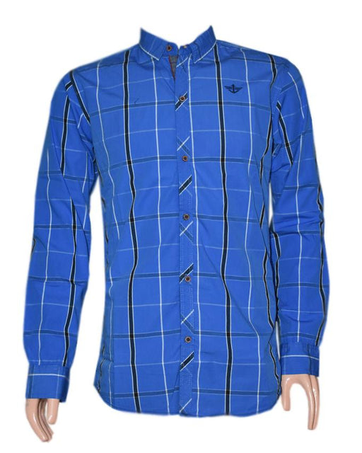 Dockers. Full Sleeves Checkered Shirt For Men - Hiffey