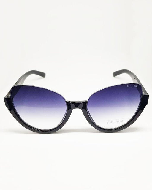 Miu Miu Cat-eye Shape Black Shade Sunglasses - Hiffey