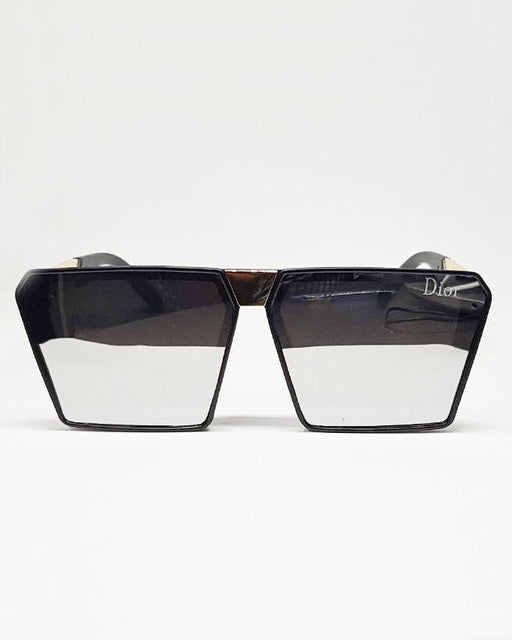 Dior Black Square Sunglasses for Kids - Hiffey