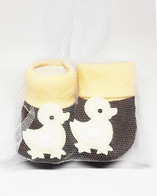 Newborn Baby Brown Duck Cotton Shoes - Hiffey