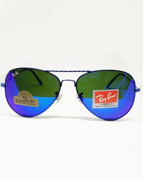 RayBan Blue Multi Color Shade Sunglasses
