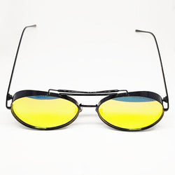 Gentle Monster Black Frame Multicolor Shades Fashion Sunglasses