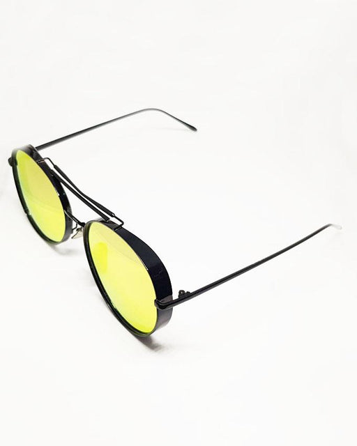 Gentle Monster Black Frame Multicolor Shades Fashion Sunglasses - Hiffey