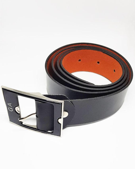 GA Leather Belts For Kids - Black - Hiffey