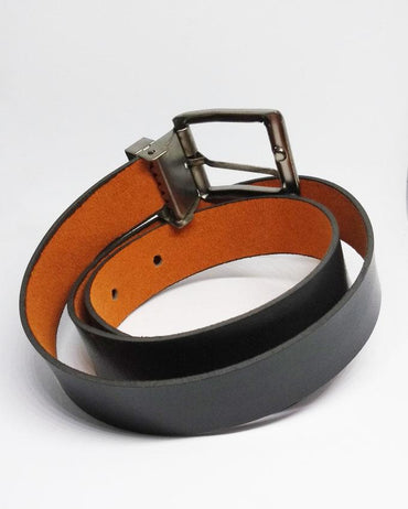 Elegent Causal Leather Belt For Kids - Black