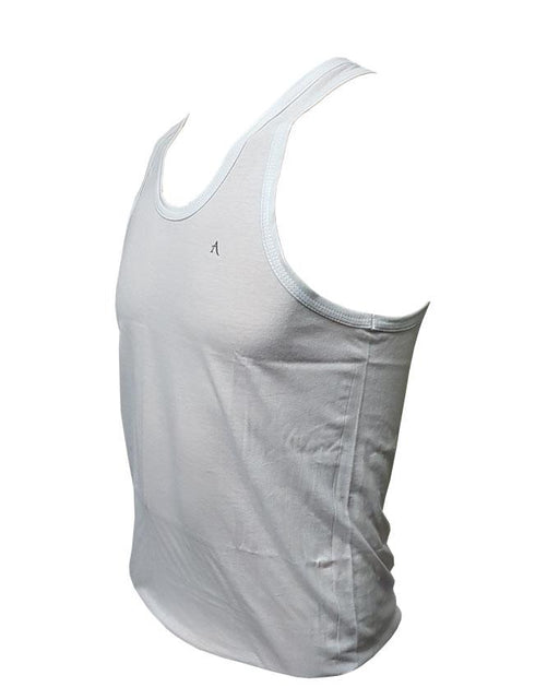 Sando Vest Plain for Men by Fit Line - Pack of 2 - Hiffey