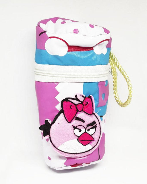 Baby Angry Bird Feeder Cover Bag - Pink - Hiffey